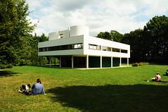 Villa Savoye (FADB) Tags: paris france art arquitetura architecture arquitectura arte frana le villa savoye corbusier poissy
