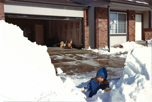 Christmas Day Blizzard 1982