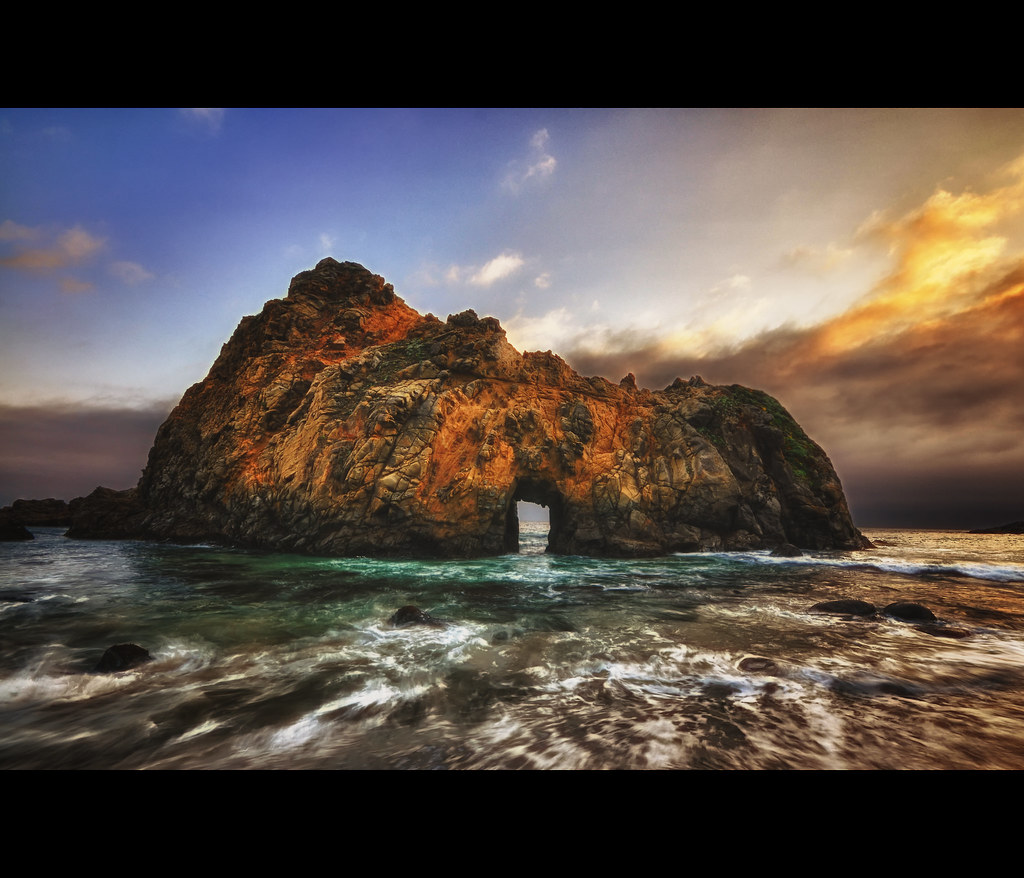 HDR EFEX PRO REVIEW - Photo Big Sur, California (HDR)