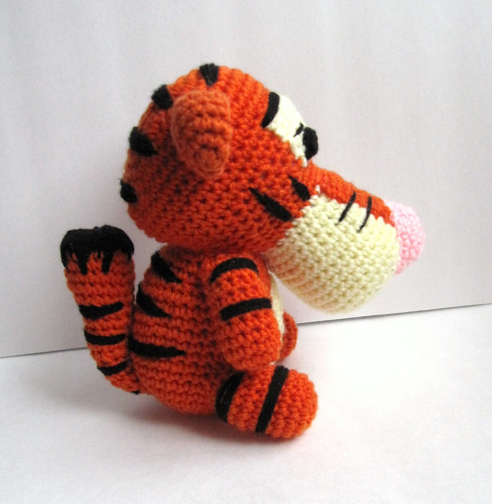 Tiger Doll Amigurumi Pattern : The Worlds Best Photos by satoo@etsy - Flickr Hive Mind