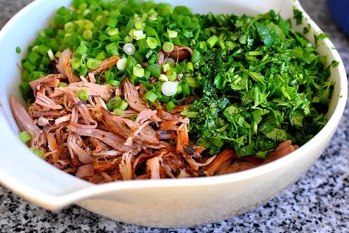 Slow-Cooked Pulled Pork with Orange and Cilantro