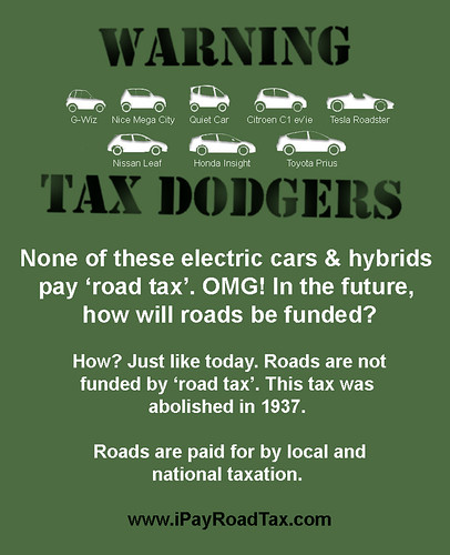Warning Tax Dodgers