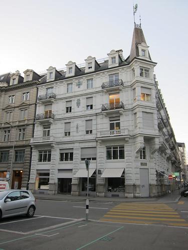 苏黎世街头