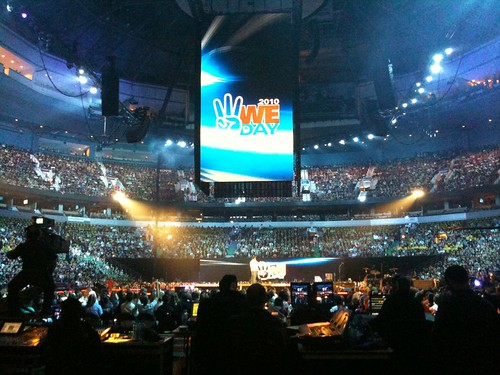 #WeDay 2010 at Rogers Arena