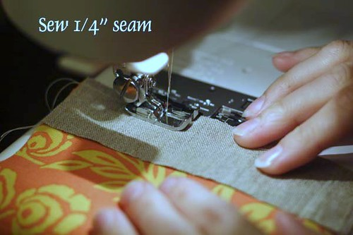Chain Piecing - Sew