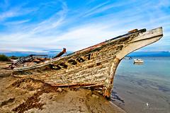 Sinis - Mar Morto (Luca Pagliarino ( I'm back )) Tags: sardegna abandoned canon landscape death luca mare barche paesaggi grandangolo sangiovanni relitto oristano abbandonato marmorto relitti eos7d pagliarino siniseos7d