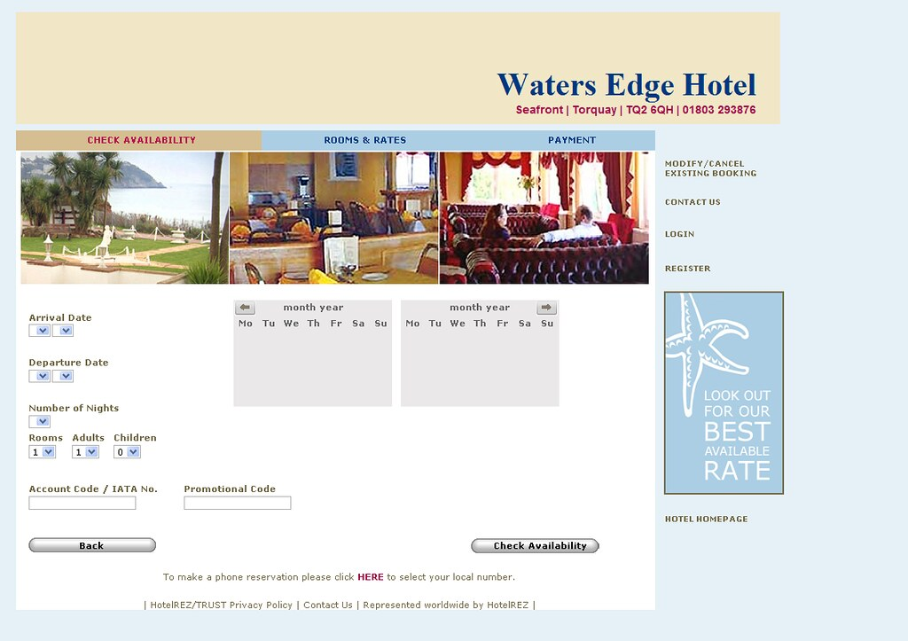 Waters-Edge-Hotel - Reservation