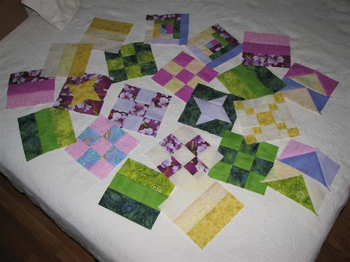 Progress: Spring Sampler