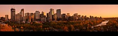 Calgary Evening (Surrealplaces) Tags: calgary alberta canada downtown skyscrpaper cityscape tower skyline