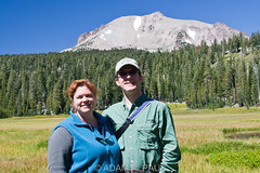 Sarah & I in King's Meadow (Adam R. Paul) Tags: california usa northamerica lassenpeak mountlassenvolcanicnationalpark adampaul sarahbreivis