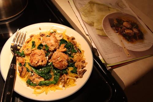 Martha Stewart meal
