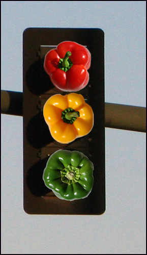 Bell Pepper Stoplight