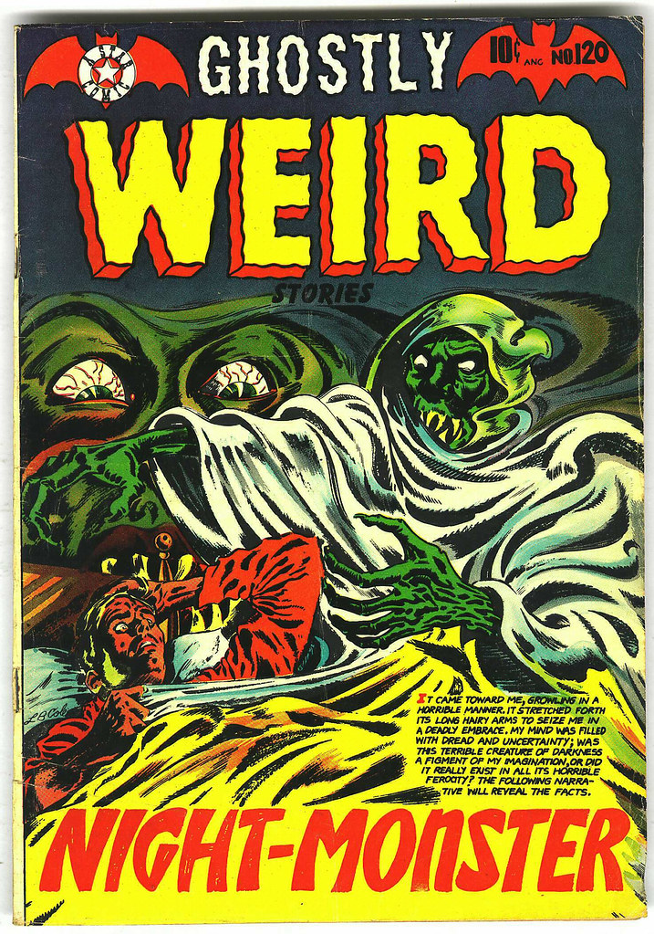 Ghostly Weird Stories #120 (Star, 1953)