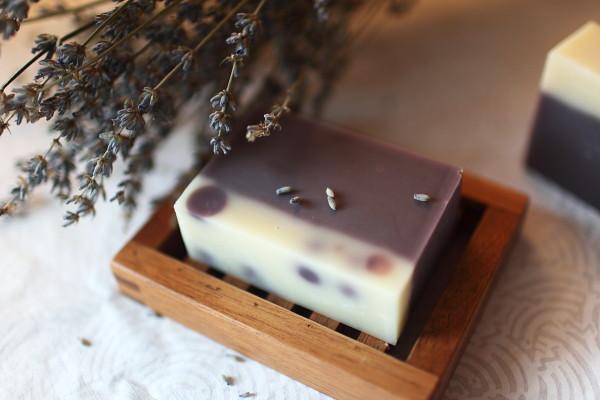 薰衣草酒粕生奶皂