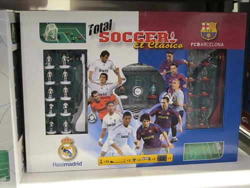 barcelona fc vs real madrid 2010. Subbuteo - FC Barcelona vs