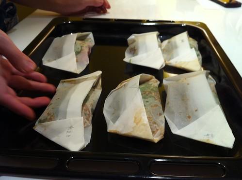 泰式香料紙包烤魚