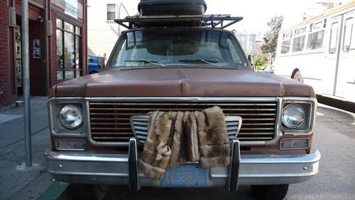 Truck fur coat