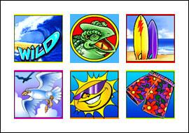 free Crazy Chameleons slot game symbols