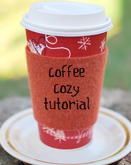 coffee cozy tutorial