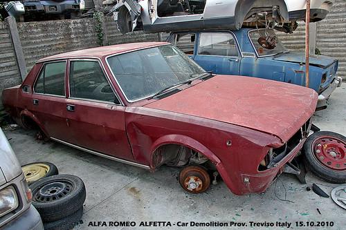 ALFA ROMEO ALFETTA - Car