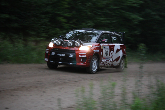 new england america forest rally scion xd 2010