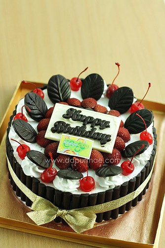 Esia's Blackforest Cake