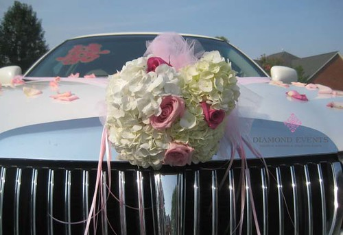 Limousine decorated for Chinese Tea Ceremony