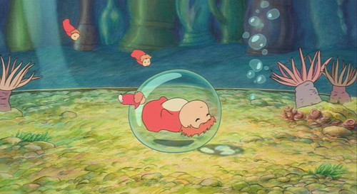 Ponyo-A-1 fish in bubble