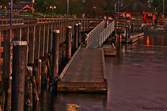 Rocky Point dock HDR