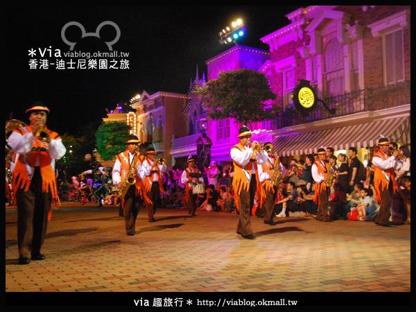 【香港旅遊】跟著via玩香港(2)~迪士尼萬聖節夜間遊行超精彩!18