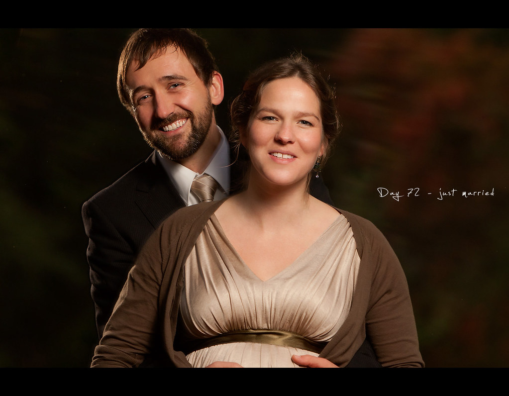 Day 72, 072/365, Project 365, Strobist, bokeh, Hochzeit, Wedding, Couple, Wedding Pictures, Autumn, Fall, Leafs, warm, project365,