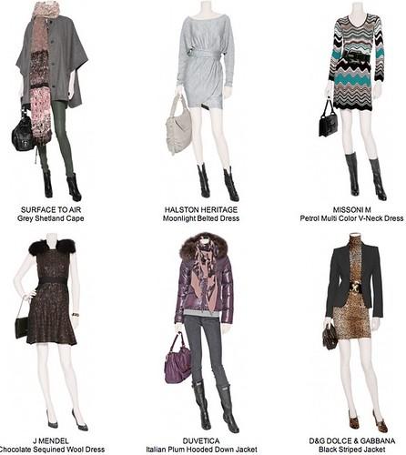 Moda mujer otoño-invierno 2010-2011, tienda online de ropa para mujer Stylebop.com