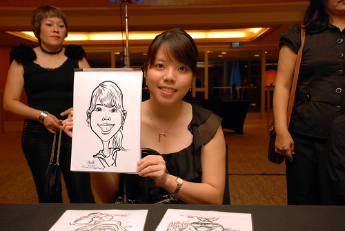 Caricature live sketching for Great Eastern D&D - 15