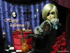 Julius - 29 - 10 - 10 (Rootsinaflowerpot) Tags: halloween ball doll dal planning bjd pullip julius jun arion jointed junplanning taeyang