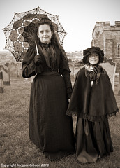 Mother & Daughter (Jacquie Akroyd) Tags: uk portrait woman girl lady portraits photography costume nikon october photographer weekend yorkshire gothic north goth daughter victorian mother whitby authentic 2010 d60 wgw rattesalat jacquiegibson jacquiegibsonphotography jacquieakroydphotography jacquieakroyd