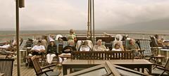 After lunch naptime on Lido Deck, Sea Cloud II (johnstodder) Tags: ocean sleeping sea vacation sailing napping tallships adriatic adriaticsea lidodeck seacloudii apresdejeuner