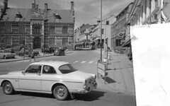 Dnemark 1967 - Volvo 121 Amazon (borntobewild1946) Tags: blackandwhite bw volvo amazon sw dnemark volvoamazon schwarzweis volvo121 berndloos borntobewild1946 copyrightbyberndloos