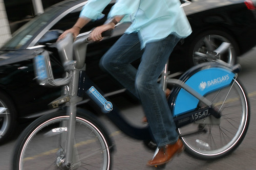 Boris Bike number 15547