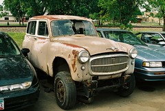 Hillman Husky body on 4X4 frame (DVS1mn) Tags: station wagon four estate 64 sixty nineteen 1964 stationwagon estatewagon estatecar shootingbrake nineteensixtyfour longroof