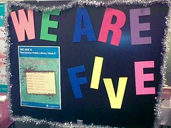 Cenral Public Library 5th Anniversary