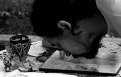 Untitled (Dushan B. Hadnadjev [slowly back]) Tags: world life light portrait people music man art love church face photographer spirit traditional prayer serbia documentary social soul serbs balkans symbols enlightenment portret orthodoxchristian orthodoxy srbija serbianorthodox србија dushan душан dushanhadnadjev