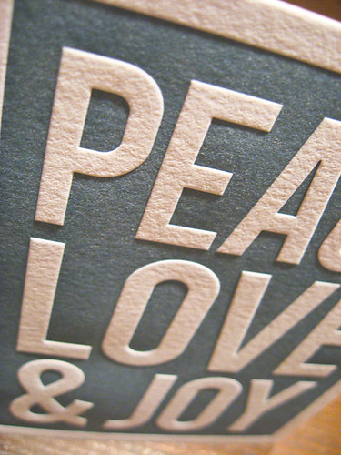 2010 Holiday Cards - Peace