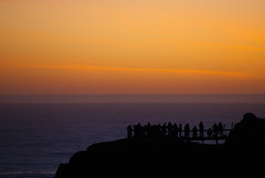 (TheRealMichaelMoore) Tags: sanfrancisco california sunset lighthouse coast dusk photographers fave highway1 beacon pigeonpoint 2010