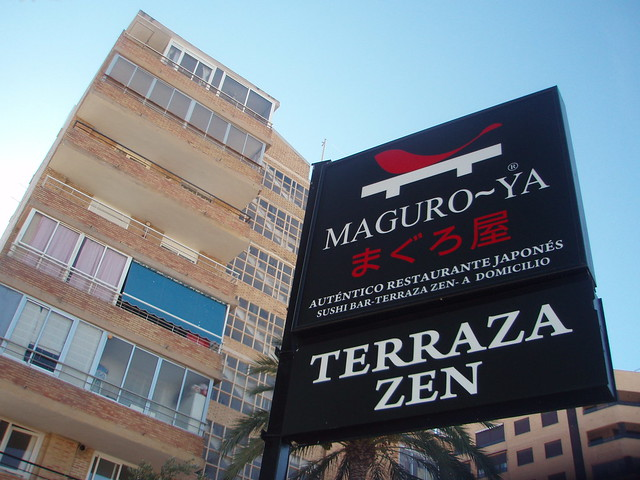 Maguro-ya, restaurante japonés de Alicante