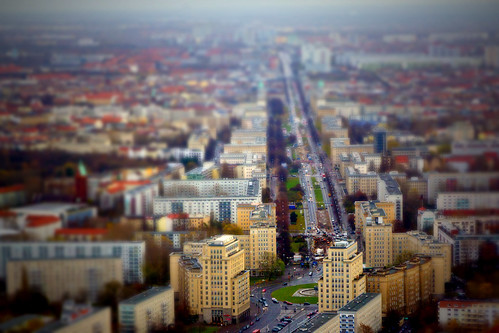 Berlin from above (Tiltshift)
