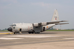 Propellorless C-130H at Melsbroek CH09 (Hermen Goud Photography) Tags: military transport lockheed brussel hercules c130 melsbroek smaldeel