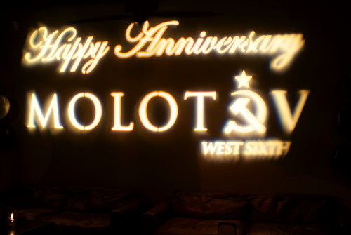 Molotov's Anniversary Party