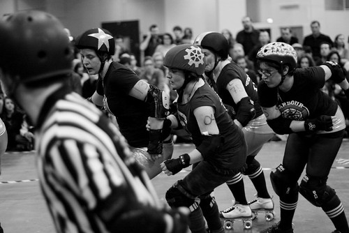 Harbour Grudges vs Steam Rollers - London Rollergirls
