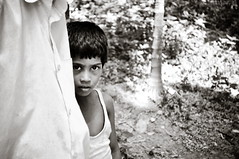 I for Introvert (A. adnan) Tags: boy blackandwhite bw kid nikon shy bangladesh introvert chittagong bangladeshiphotographer d5000 peopleofbangladesh