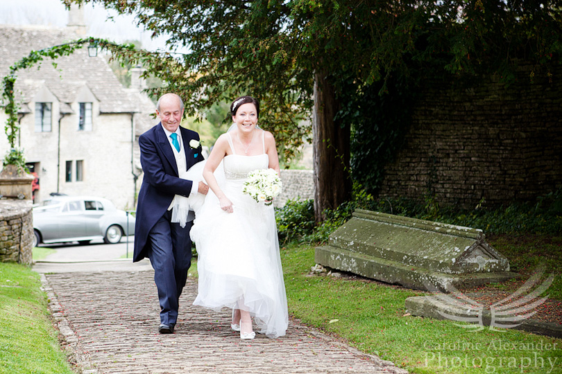 Gloucestershire Wedding Photographer Chedworth Church 5